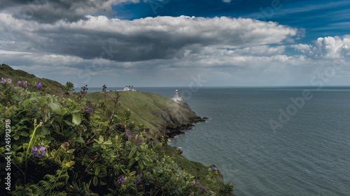 Photo  Bailey Lighthouse ,Howth Peninsula, Dublin , Ireland