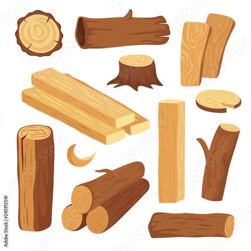 Fotografía Cartoon timber