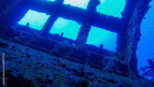 Fotografie, Obraz  diving wreck