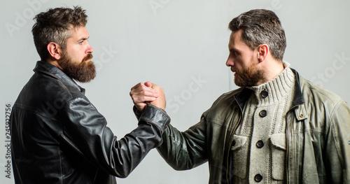 Fényképezés  Strong handshake