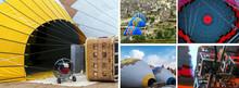 Set Hot Air Balloon Cappadocia...