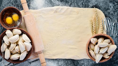 Photo  Dumplings with potatoes