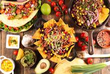 Mexican Food Assortment
