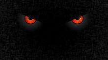 Halloween Staring Scary Spooking Evil Eyes On Dark Grunge Background