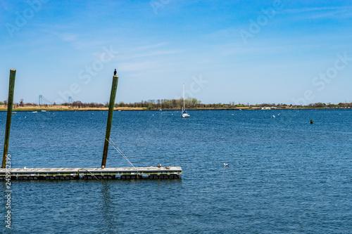 Photo  Great Kills Harbor, Staten Island NY US.