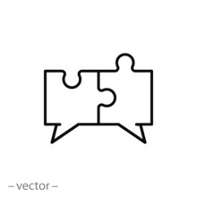 Conversation Icon, Dialogue Li...