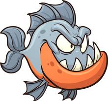 Cartoon_piranha