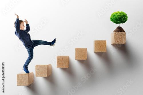 Fotografía  growth business concept.