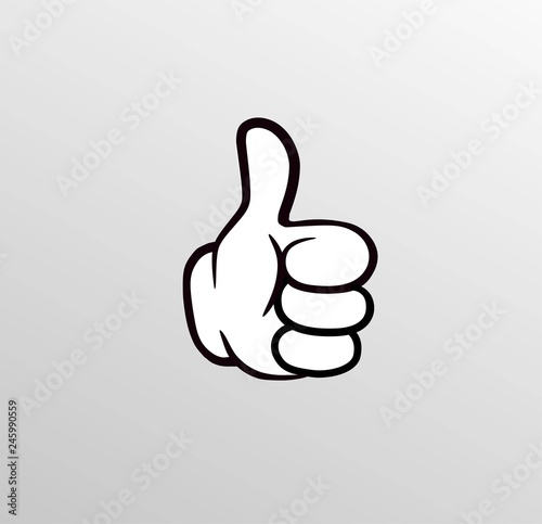thumb cartoon hand ok buy this stock vector and explore similar vectors at adobe stock adobe stock thumb cartoon hand ok buy this stock