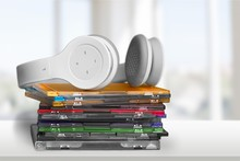 Headphones And Compact Discs  ...