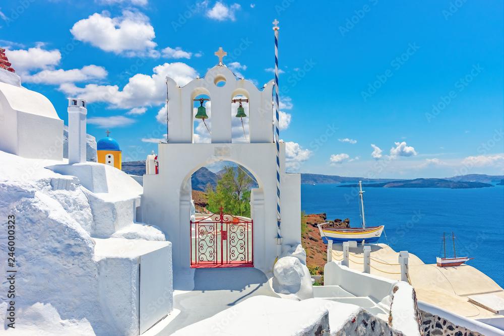 Fototapety, obrazy: Architektura na wyspie Santorini, Grecja