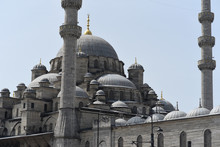 Detail From Yeni Cami In Istanbul
