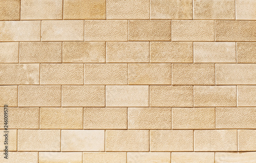 Wall of light, yellow Sandstone. Background image, texture. Canvas Print