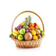 Fruit Basket, Winter Assortment.