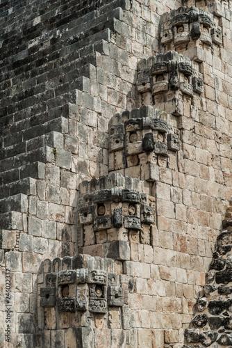 Zdjęcie XXL Uxmal archeologiczne ruiny Majów yucatan