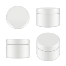 Cosmetic Package. Rounded Clea...