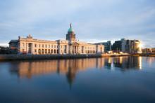 The Custom House In Dublin, Ir...