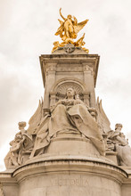 The Queen Victoria Memorial At Buckingham Palace, London