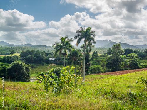 Cuban countryside an amazing landscape Canvas Print