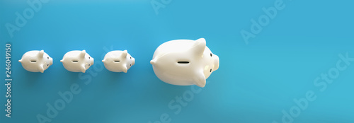 Fotografía  Piggy Bank save money investment