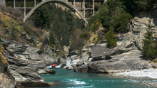 Long Shot Of The Shotover Jet ...