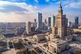 Fototapeta Miasto - Centrum Warszawy