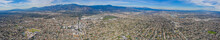 Aerial View Of The San Gabriel...