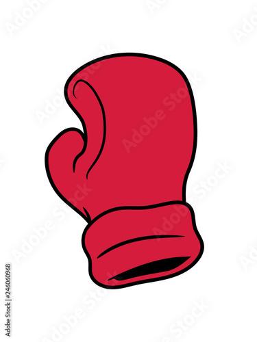 Boxer Handschuh Boxhandschuh Sport Boxen Ring Kickboxer Kämpfer