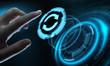 canvas print picture - Update Software Computer Program Upgrade Business technology Internet Concept