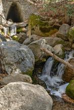 MT SAN JACINTO WATERFALL