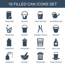 16 Can Icons