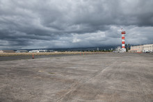 Military Base Airport Runway W...