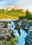 Athabasca Falls in autumn, Jasper National Park, Alberta, Canada