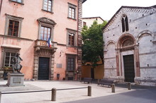 Suffrage Square, Lucca, Tuscany, Italy