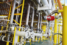 Flame Detector For Detect Fire Case At Oil And Gas Platform