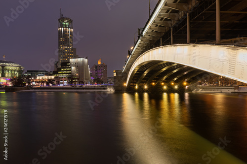 Foto op Canvas Aziatische Plekken City by Night