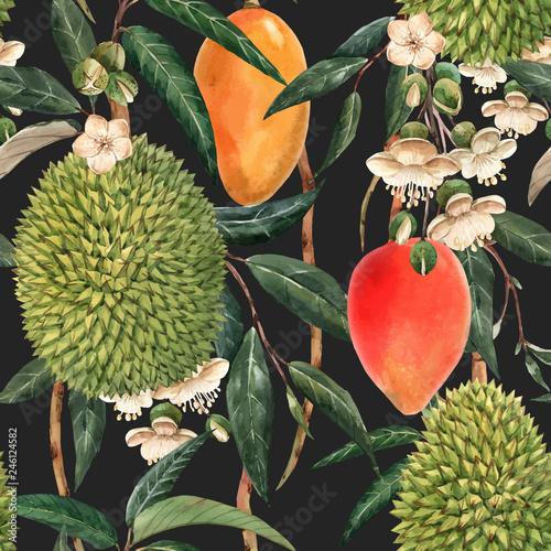 z-egzotycznymi-owocami-i-kwiatami-utrzymana-w-stylu-retro