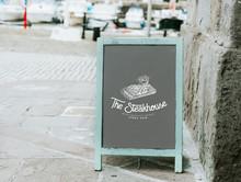 The Steakhouse Board Design Mockup