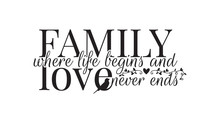Family Where Life Begins, And ...