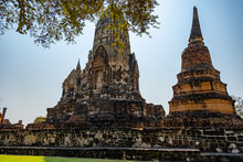 Old Famous Temple In Thailand ...