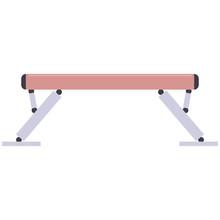 Gymnastic Balance Beam Vector ...