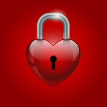 Heart Lock, Valentine's Day Icon