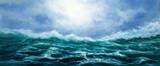 fale oceanu - 246147987