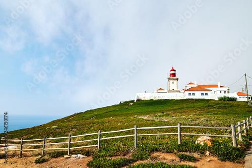 Foto auf AluDibond Ursa Beach lighthouse at daylight