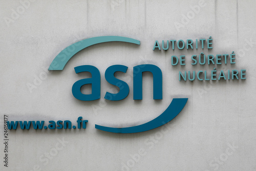 The logo of the French Nuclear Safety Authority (ASN) is