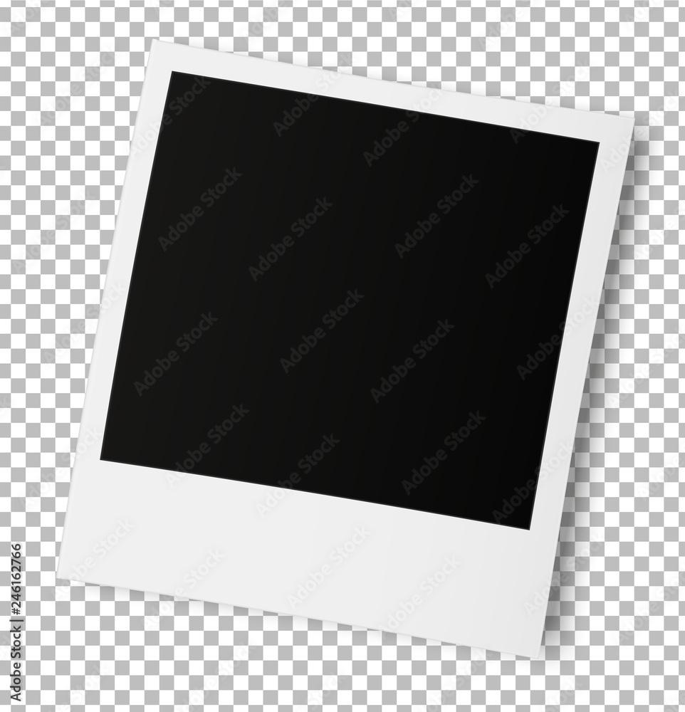 Fototapety, obrazy: Old photo frame isolated.