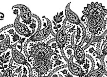 Seamless Black And White Tradi...