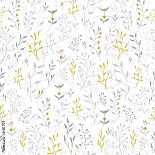 Tapety Prowansalskie  recznie-rysowane-kwiatowy-wzor-i-tlo