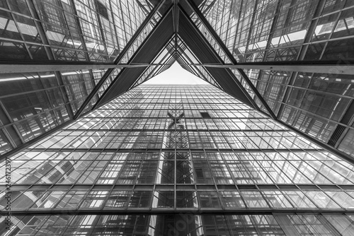 Fotografie, Obraz  Modern building abstract background pattern