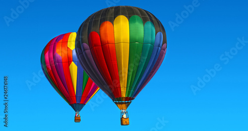 Aluminium Prints Balloon Hot Air Balloons by Skip Weeks